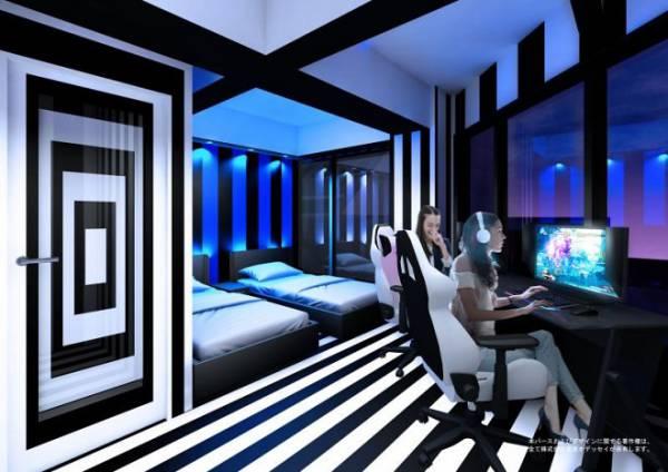 В Осаке строят уникальный отель для геймеров и кибератлетов