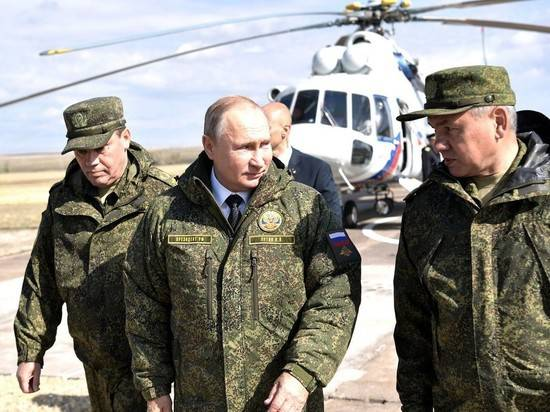 Глава Генштаба насмешил Путина анекдотом про повара