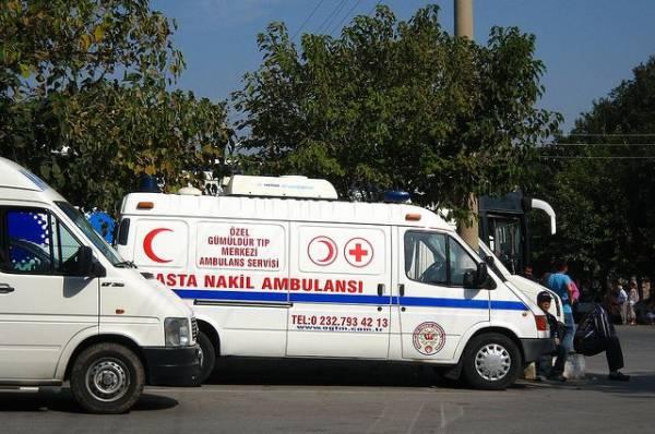 В Анталии в ДТП с автобусом пострадали 15 россиян