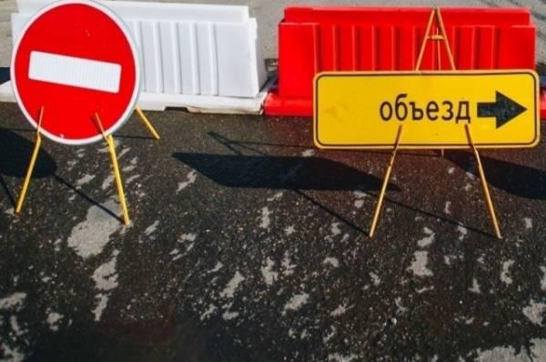Под Санкт-Петербургом ушел под землю участок автомобильной дороги