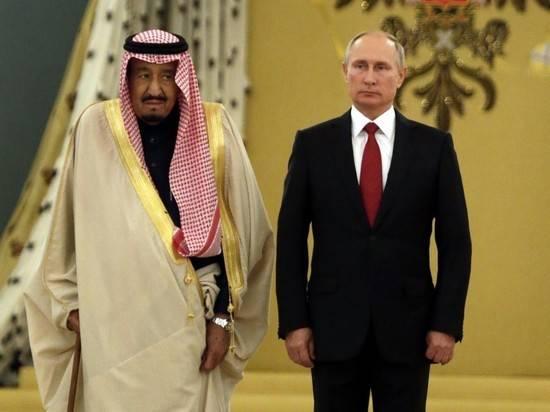 Путин едет в Саудовскую Аравию в октябре