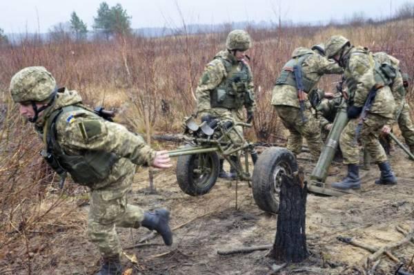 В ЛНР заявили, что украинские военные устроили массовую драку в Донбассе