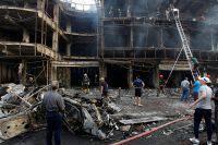 Два снаряда разорвались неподалеку от посольства США в Багдаде