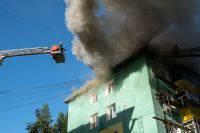 В Екатеринбурге произошел пожар на дизель-моторном заводе