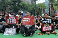 В Гонконге неизвестные избили члена законодательного собрания