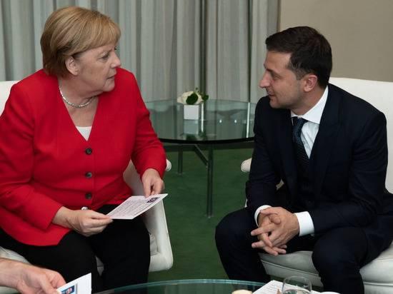 """Меркель и Зеленский готовы к встрече в """"нормандском формате"""""""