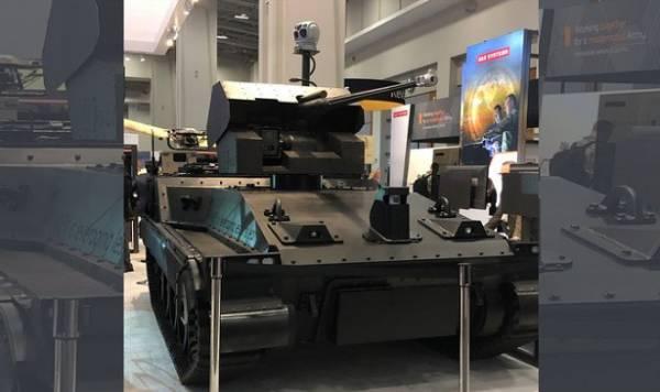 Концерн BAE Systems создал боевого робота ближайшего будущего