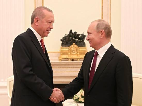Эрдоган обсудит с Путиным вывод курдских сил из сирийского Манбиджа