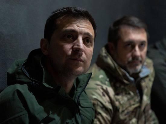 Зеленский обнародовал видеозапись беседы с националистами в Золотом