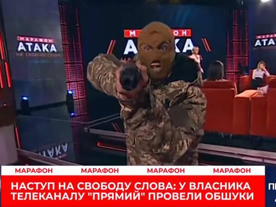 """Скабеева высмеяла вооруженный """"захват"""" украинского телеканала"""