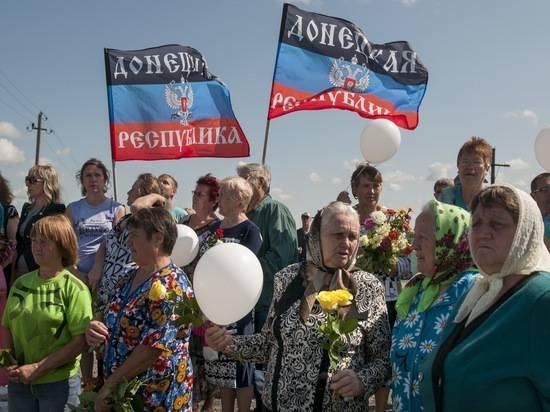 Большинство жителей ДНР и ЛНР выступило за присоединение к России
