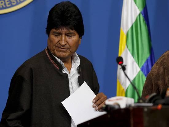 Специалисты назвали главную ошибку подавшего в отставку президента Боливии Моралеса