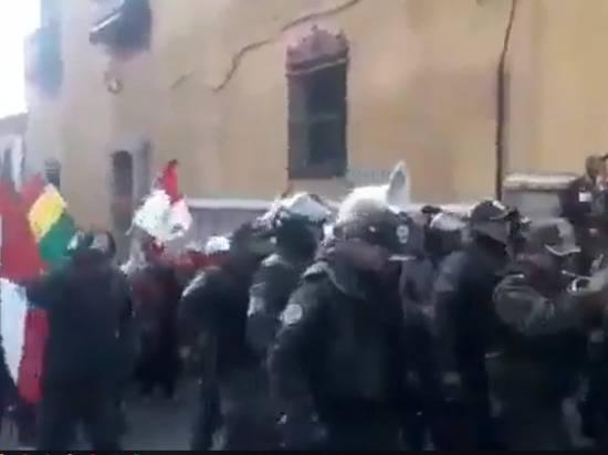 Жители Боливии празднуют отставку Моралеса