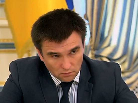"""Климкин назвал разведение сил в Донбассе """"успехом Путина"""""""