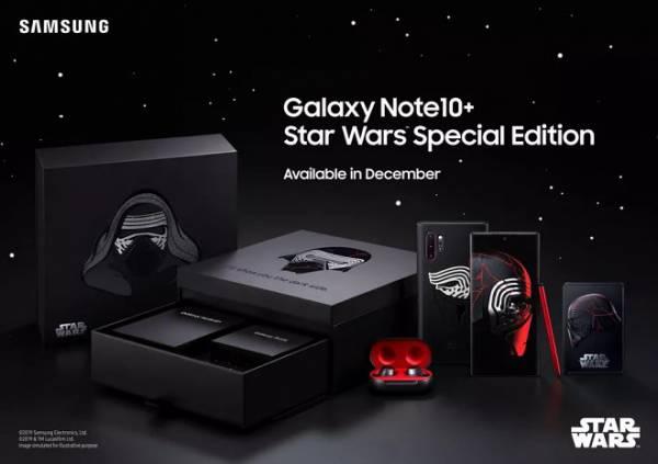 Samsung выпустил специальную версию GalaxyNote10+ для всех фанатов Звездных Войн