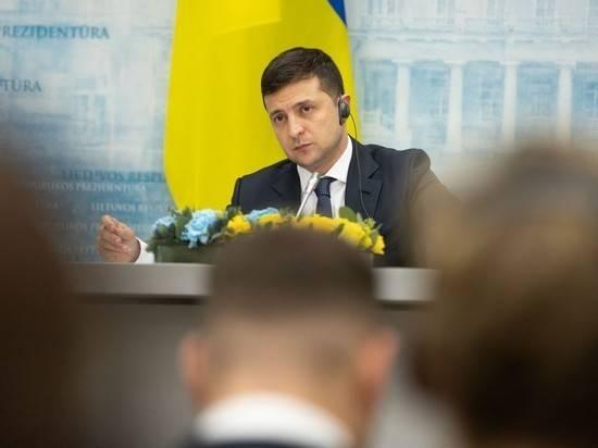 Зеленский заявил о несогласии с минскими соглашениями