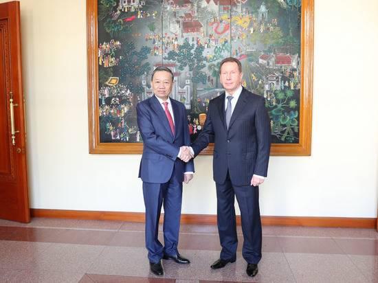 Главы Росгвардии и Министерства общественной безопасности Вьетнама договорились о сотрудничестве