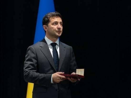 Украинские силовики отказались принимать подарок Зеленского