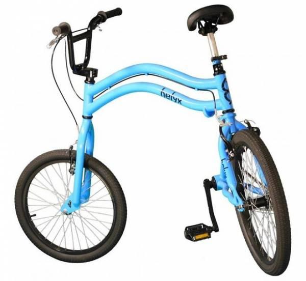 Велосипед Helyx с двумя рулевыми колесами – ультрабайк для самых ловких наездников