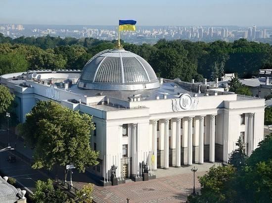 В украинском парламенте назвали две вещи, которые уничтожат страну