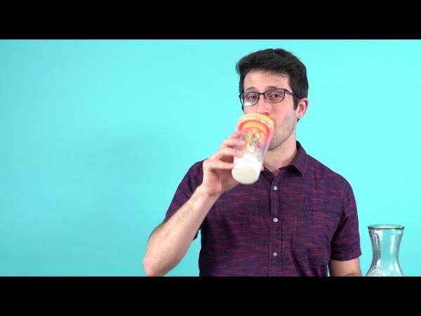 Чашка CrunchCup поможет питаться здоровой пищей на ходу