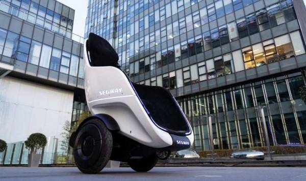Segway представил новое мобильное кресло-скутер