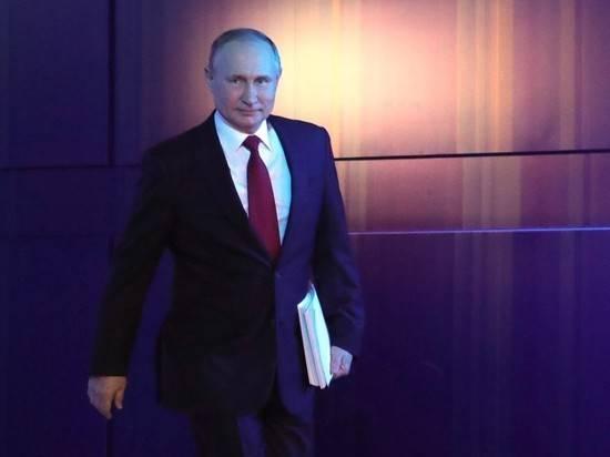 Рейтинг Путина резко вырос после послания