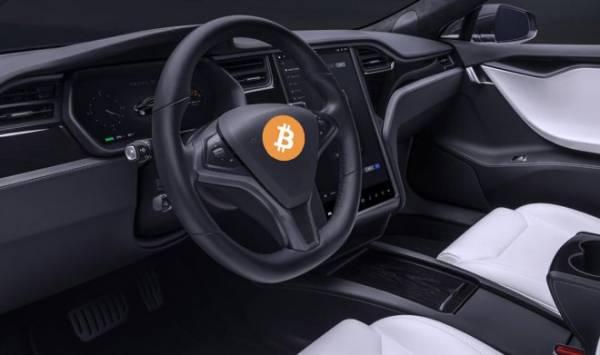 Энтузиасты превратили электромобиль Tesla в полноценный биткоин-узел