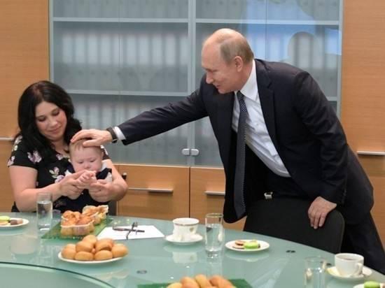 Путин призвал увеличивать число россиян