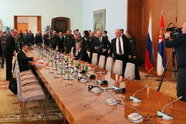 Сергей Шойгу в Белграде напомнил о том, что объединяет наши страны