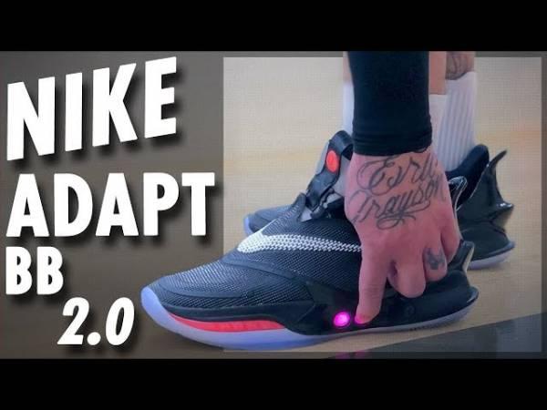 Nike выпустила новую версию кроссовок с автошнуровкой Adapt BB 2.0