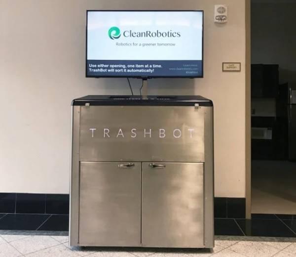 Практичный робот TrashBot отсортирует мусор для переработки