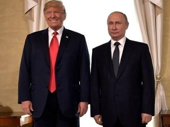 """В США предрекли """"приход Путина"""" в Белый дом в случае победы Трампа"""
