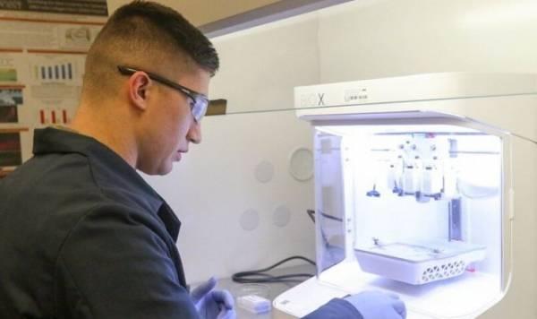 Солдаты Армии США учатся печатать запасные фрагменты человеческого тела