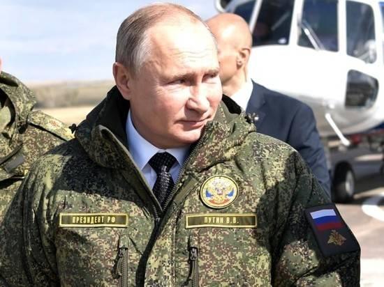 """Путин рассказал о создании российского """"оружия будущего"""""""