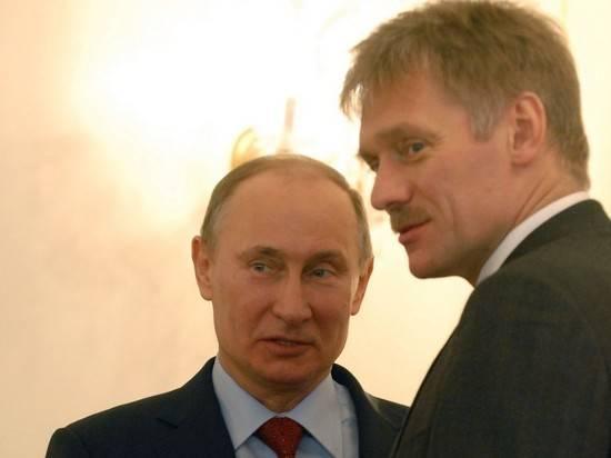 """Песков ответил """"гражданину Суркову"""" про обнуление президентских сроков"""