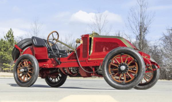 Уникальный Renault Vanderbilt Grand Prix Racer 1907 года отправляется на аукцион