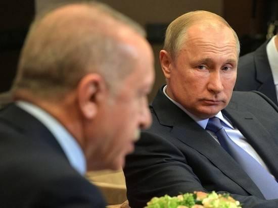 Кремль: в графике Путина 5 марта нет ни встречи с Эрдоганом