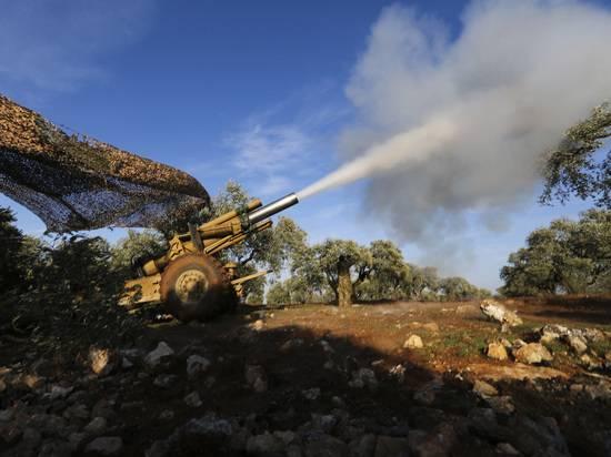 СМИ рассказали о поддержке турецкой артиллерией боевиков в Сирии