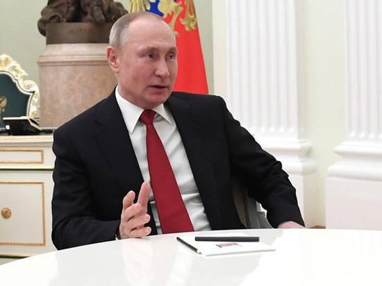 Путин укажет дату голосования по Конституции в указе