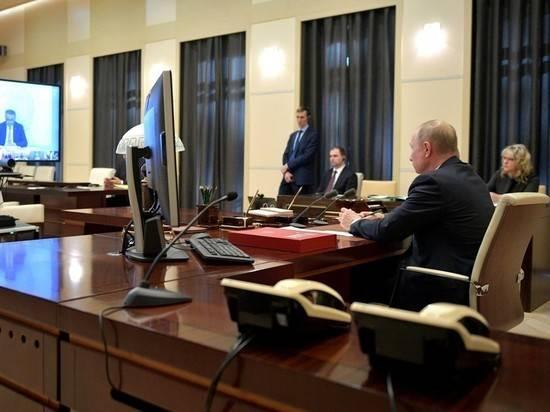 Путин: Россия выделит 2,4% ВВП на борьбу с последствиями коронавируса