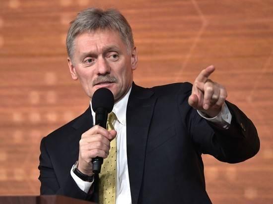 Песков подтвердил коронавирус у сотрудника Администрации президента