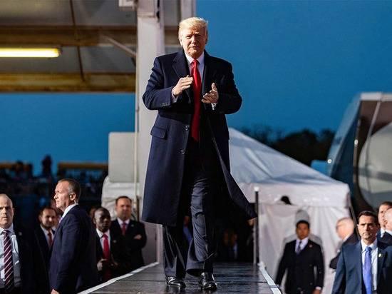 В США зафиксировали исторический максимум рейтинга одобрения Трампа