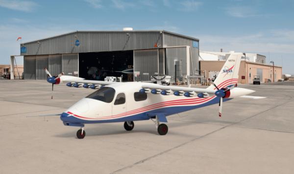 NASA утвердило дизайн первого в мире полностью электрического самолета Х-57