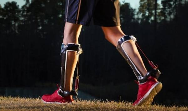 Пассивный экзоскелет для ног позволит людям бегать на 50% быстрее
