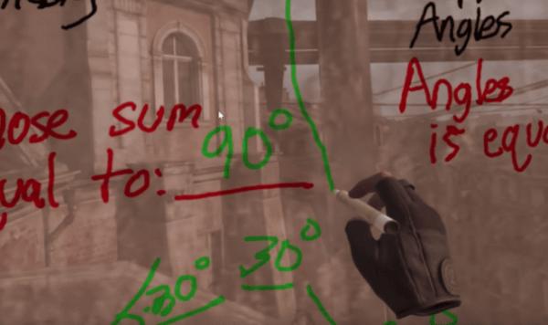Находчивый учитель провел урок математики в виртуальном мире Half-Life: Alyx