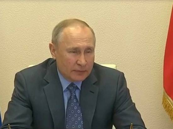 Путин заявил о весьма напряженной обстановке на совещании с правительством