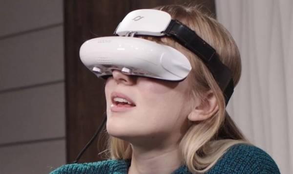 Гарнитура GOOVIS переносит гигантский экран кинотеатра в виртуальную реальность