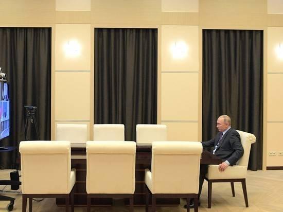 Режим дистанционной работы Путина продлится еще неделю