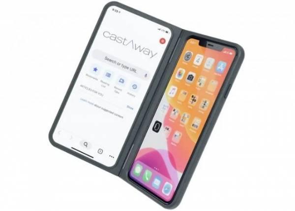Чехол castAway добавит второй полноценный экран любому смартфону
